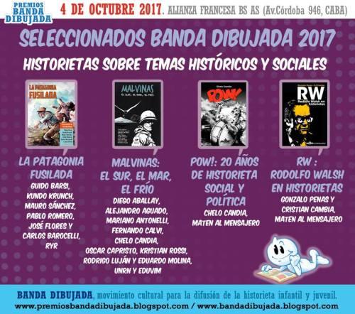 Nominados Premios Banda Dibujada